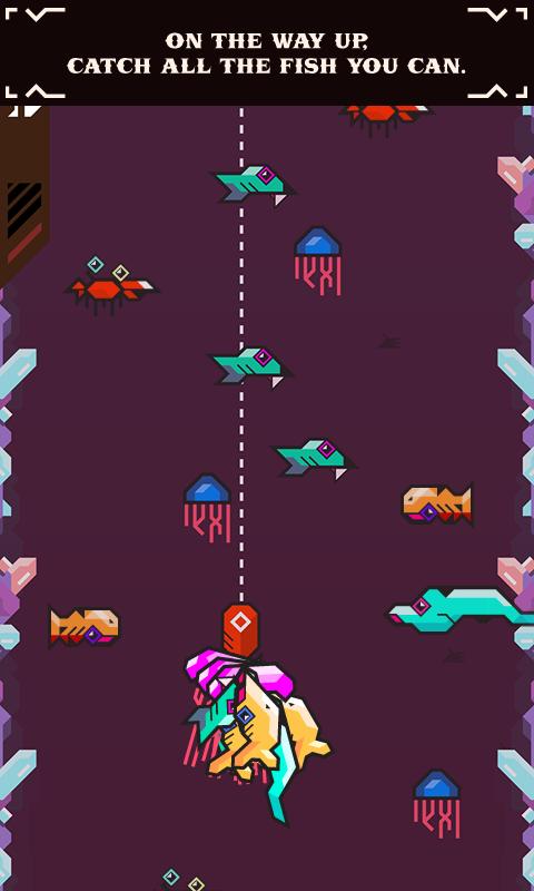 Ridiculous Fishing screenshot #3