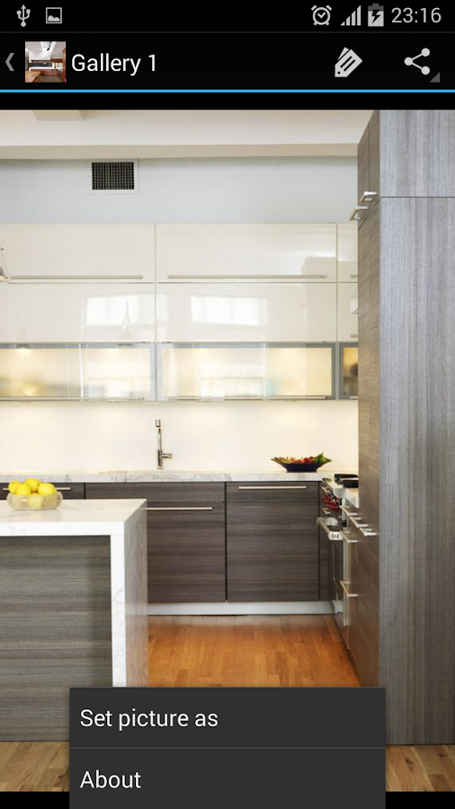 Kitchen cabinets android apps on google play for Kitchen cabinet app