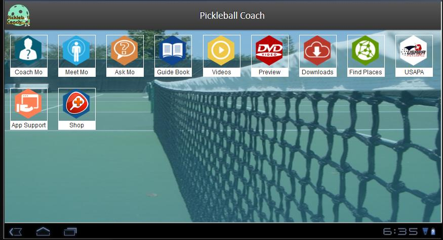 Pickleball Coach- screenshot