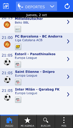 Futbol TV - Deportes TV