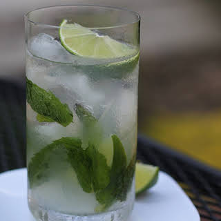 Mint Mojito Drink.