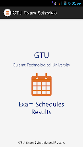 GTU Exam Schedule Results