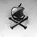 LiveWallpaper Apple Skull logo