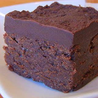 Chocolate- Mascarpone Brownies.