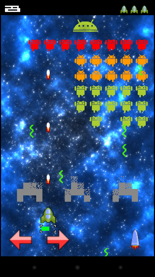 Earth and Space Invaders- screenshot