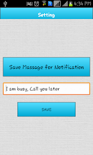 Auto Call Rejection New screenshot