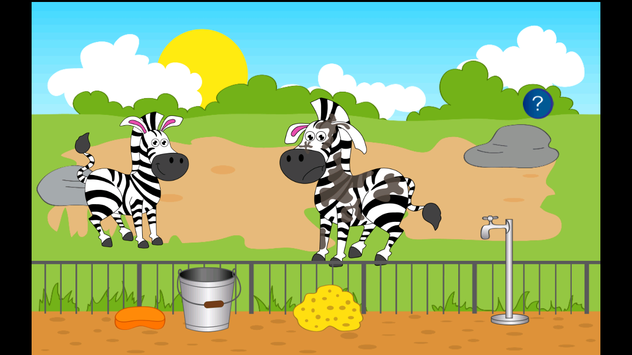 Trip to the zoo for kids- screenshot