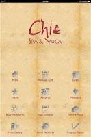Screenshot of Chi Spa & Yoga