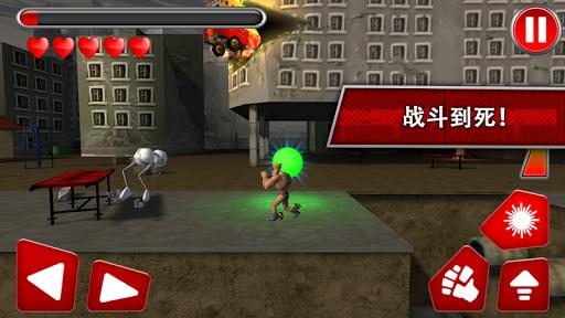 跑机器人跑3D