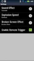 Screenshot of Self Destruct Button