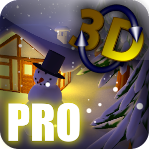Winter Snow in Gyro 3D Pro 個人化 App LOGO-APP試玩