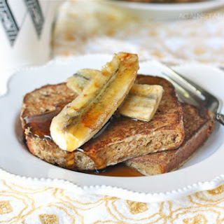 French Toast with Grilled Bananas.