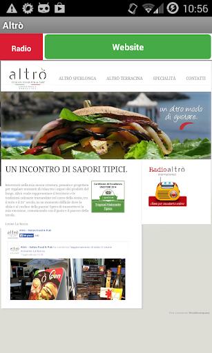 Altro Italian Food
