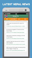 Screenshot of Nepal.FM