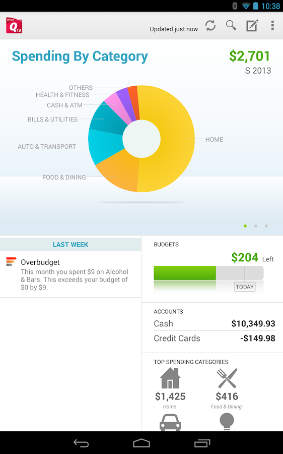 Quicken 2013 Money Management - screenshot