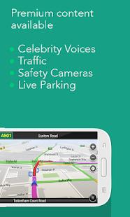 [Navfree: Free GPS Navigation] Screenshot 4