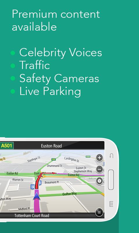Navfree: Free GPS Navigation - screenshot