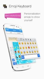 Emoji Keyboard-color emoticons