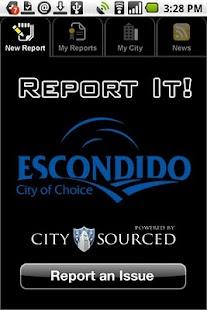 Escondido Report It!- screenshot thumbnail