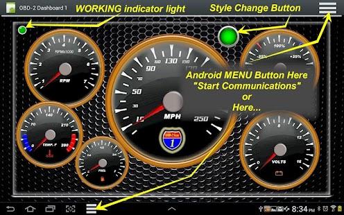 OBD2 Dashboard-1 OBD2 Cars