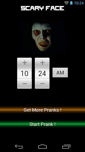 Scary Movie Face Prank