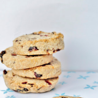 Nut Butter Cranberry Cookies