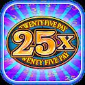 Twenty Five Pay Slots