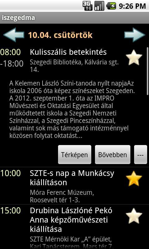 iszegedma- screenshot
