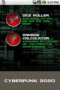 Cyberpunk Dice Pack- screenshot thumbnail