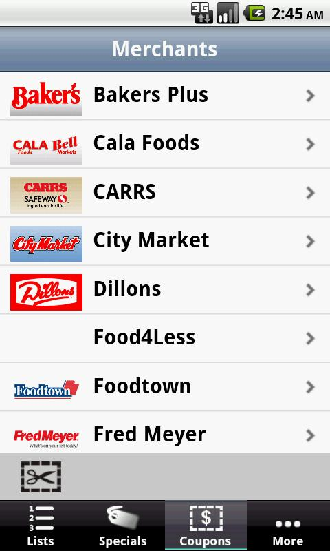 Grocery Pal (In-Store Savings) - screenshot