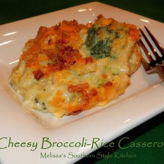 Cheesy Broccoli-Rice Casserole.