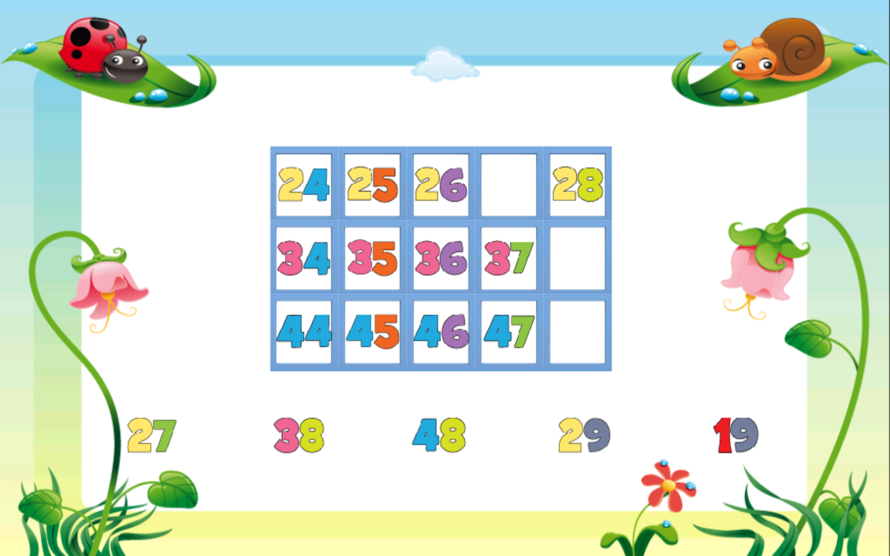 Kids Counting Hundred Chart - Android Apps on Google Play