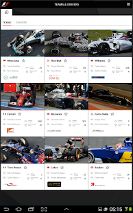 Official F1 ® App - screenshot thumbnail