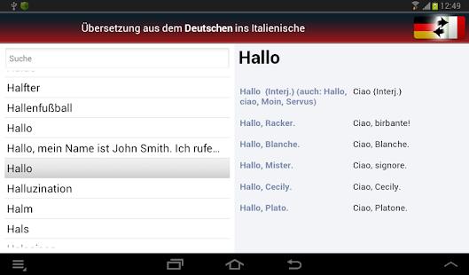Deutsch-Italienisch? OK!- screenshot thumbnail