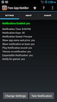 Screenshot of Free App Notifier For Amazon