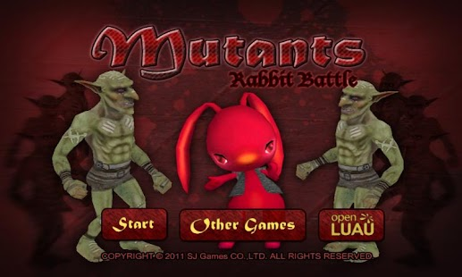 Mutants Rabbit Battle - screenshot thumbnail
