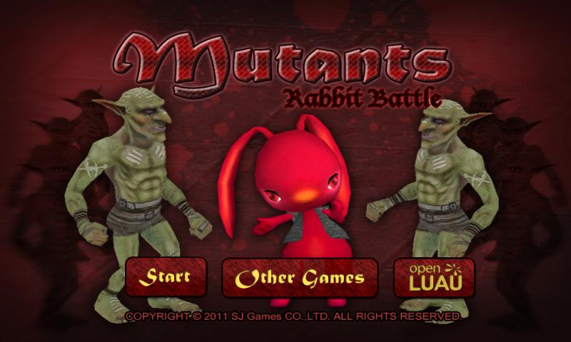 Mutants Rabbit Battle - screenshot