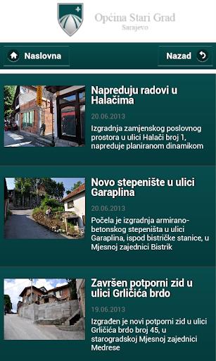 Opcina Stari Grad Sarajevo