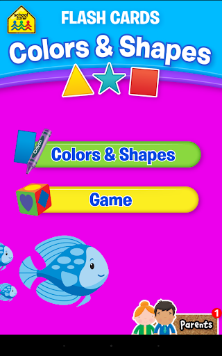 Colors Shapes Flash Cards