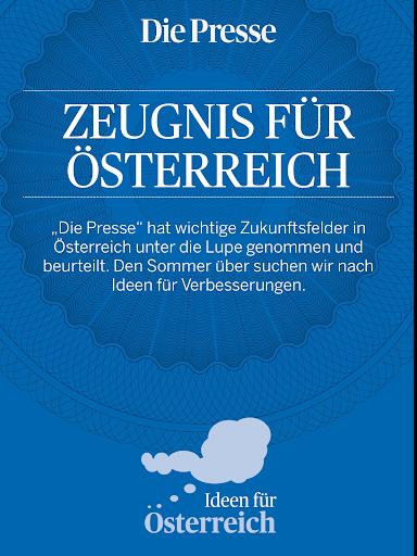 Ideen für Österreich