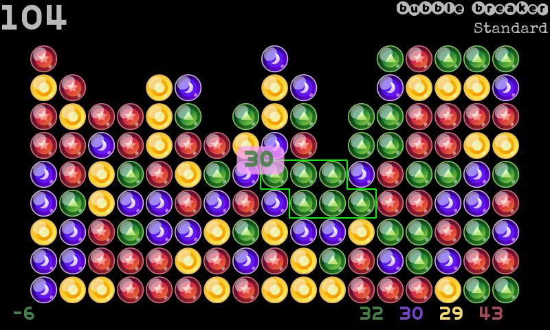 Classic Bubble Breaker(free)- screenshot
