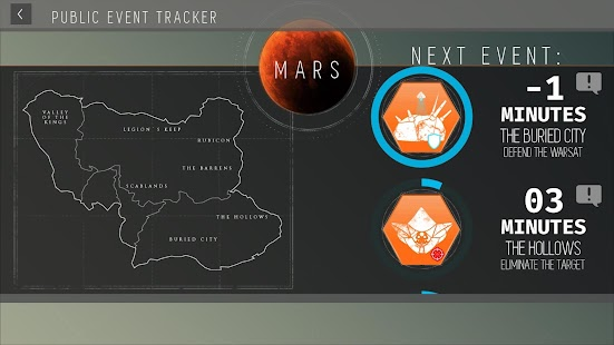 Destiny Public Event Tracker APK for Blackberry | Download Android
