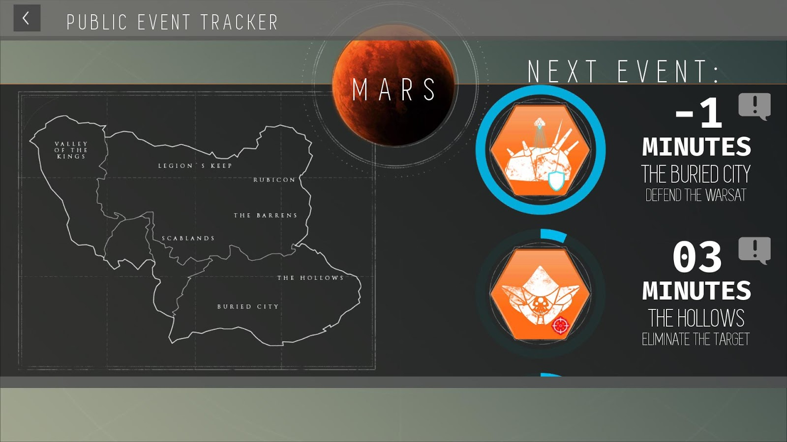 Destiny public event tracker android apps on google play