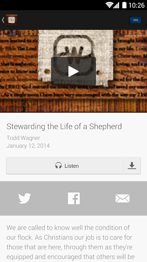 Watermark Community Church - screenshot