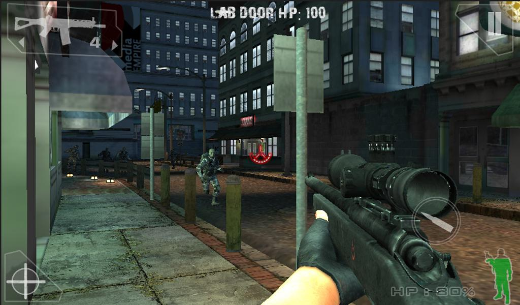 Green Force: Zombies (Premium) - screenshot