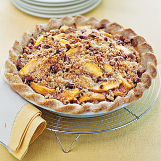 Blue Ribbon Peach Praline Pie