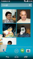 Screenshot of Contacts Widget
