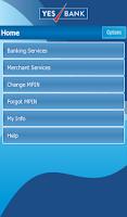 Screenshot of YES BANK