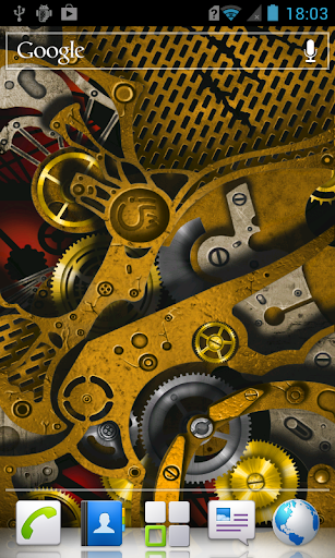 Steampunk HD Live Wallpaper