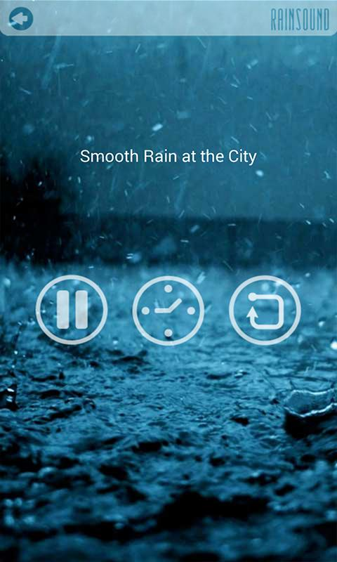 RAIN SOUND - Sound Therapy - screenshot